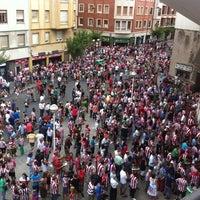 Foto tomada en Estadio de San Mamés por Paco E. el 8/20/2012