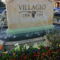 Photo taken at Villagio Inn & Spa by Lauri T. on 3/4/2012