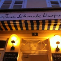 """Das Foto wurde bei Restaurant """"Zum Schmale Wurf"""" von Daniel B. am 7/9/2012 aufgenommen"""