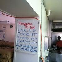 Photo taken at Tortilleria Hernandez by Travis on 8/17/2012