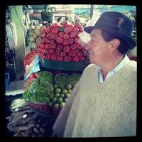 Photo taken at Plaza de Mercado de Paloquemao by Luis B. on 8/24/2012