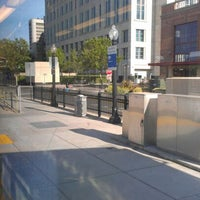 Photo taken at SACRT Light Rail Sacramento Valley Station by Brian A. on 5/22/2012