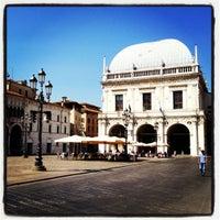 Photo taken at Palazzo della Loggia by Lorenz 📚 Λόρεντζ on 8/19/2012