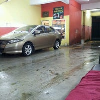 Photo taken at 3 star car wash by Alfie S. on 7/4/2012