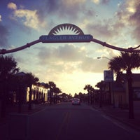 Photo taken at New Smyrna Beach Flagler Ave by suzanne s. on 6/28/2012