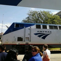 Photo taken at Austin Train Station - Amtrak (AUS) by Rachowl C. on 4/18/2012