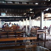 Photo taken at Nueng Seafood by Title T. on 3/7/2012