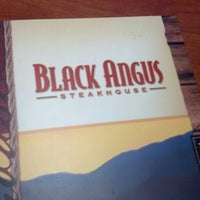 Photo taken at Black Angus Steakhouse by Amy L. on 9/2/2012
