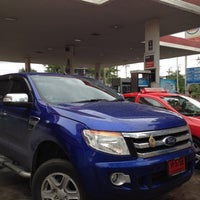 Photo taken at Esso Gas Station, Rama IX by Ananpol S. on 7/9/2012