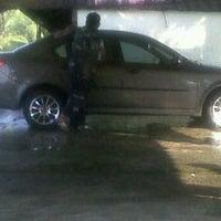 Photo taken at Aji Car Wash by intanmaria a. on 4/8/2012