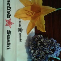Photo taken at Starfish Sushi by LIZ V. on 4/27/2012