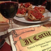 Photo taken at Il Cortile by nathalie on 4/28/2012
