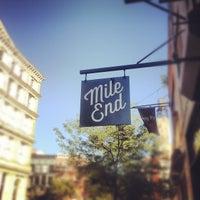 รูปภาพถ่ายที่ Mile End Delicatessen โดย Noah F. เมื่อ 9/12/2012