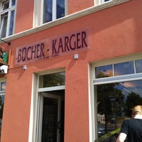 Photo taken at Buchhandlung Karger by Marvin on 7/30/2012