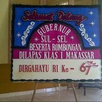 Photo taken at Lapas Klas 1 Makassar by yudhie 9. on 8/17/2012