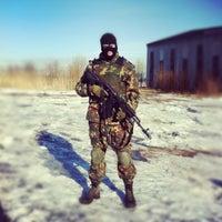 Photo taken at Война by Евгений О. on 3/31/2012