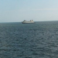 Photo taken at On the Cross Sound Ferry: Orient - New London by Craig K. on 8/28/2012
