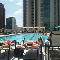 Photo taken at The Pool @ K2 by Jeff W. on 7/13/2012
