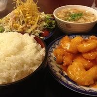 Photo taken at 大連飯店 大川店 by iwanamy i. on 7/1/2012
