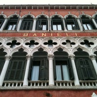 Photo taken at Hotel Danieli by Caterina B. on 4/14/2012