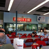 Photo taken at Mighty Fine Burgers by Mark C. on 3/15/2012