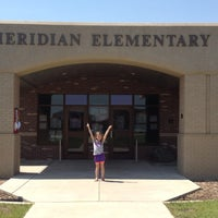 Photo taken at Meridian Elementary by Shannon W. on 8/16/2012