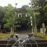 Photo taken at 勝山勝田神社 by カレーパンマン on 6/30/2012