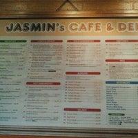 Photo taken at Jasmin's Cafe by Stella B. on 9/9/2012