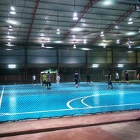 Photo taken at Futsal Masterscaff by Mohd Izzat F. on 4/10/2012