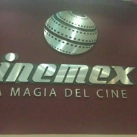Photo taken at Cinemex by sandy Z. on 8/14/2012