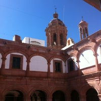 Photo taken at Museo de Guadalupe by Sergio C. on 4/4/2012