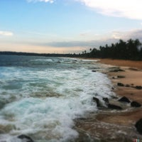 Photo taken at Tangalle Beach by Darshana S. on 4/13/2012