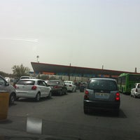 Photo taken at Gurgaon Toll Plaza by Anuj M. on 6/26/2012