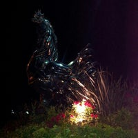 Photo taken at The Big Chrome Rooster by Troy L. on 8/2/2012