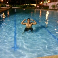 Photo taken at Luxur Place Swimming Pool by Randell on 7/14/2012