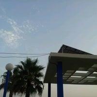 Photo taken at Playa Ferrara by Victor M. on 7/31/2012