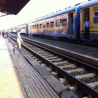 Photo taken at Stasiun Solo Jebres by muha y. on 5/5/2012