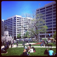 Photo taken at Farragut Square by Alexander H. on 4/6/2012