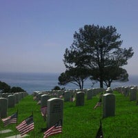 Photo taken at Fort Rosecrans National Cemetery by Sheri S. on 5/28/2012