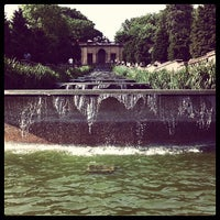 Photo taken at Meridian Hill Park by Brian G. on 5/12/2012