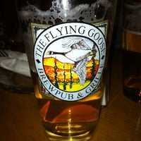 Photo taken at Flying Goose Brew Pub & Grille by Kim H. on 3/10/2012