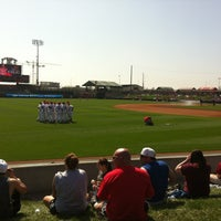 Photo taken at Hawks Field at Haymarket Park by Molly G. on 3/25/2012