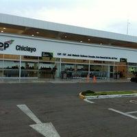 Photo taken at Aeropuerto Internacional Capitán FAP José A. Quiñones González (CIX) by Giaco H. on 4/23/2012