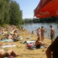 Photo taken at Озеро в Красногорском лесу by Dj Raff i. on 7/31/2012