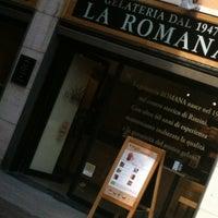 """Foto scattata a Gelateria """"la Romana"""" da Sergio S. il 5/31/2012"""
