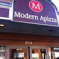 Photo taken at Modern Apizza by Gloria P. on 3/17/2012