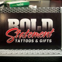 Photo taken at Bold Statement Tattoos & Gifts by Michael J. on 3/10/2012