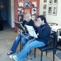 Photo taken at Heights Art Gallery by Tally K. on 5/8/2012