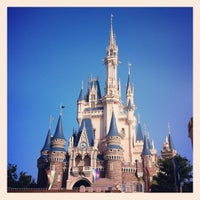 Photo taken at Cinderella Castle by tsuru k. on 6/14/2012