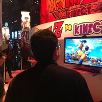 Photo taken at Namco Bandai Games E3 Booth 1637 by Guillaume D. on 6/6/2012